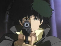 Spike Spiegel, not afraid to Take the Shot